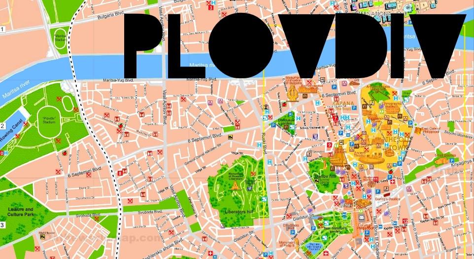 PLOVDIV: A voir à et à faire