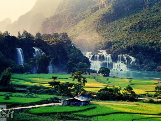 Les chutes de Ban Gioc au Viêt Nam