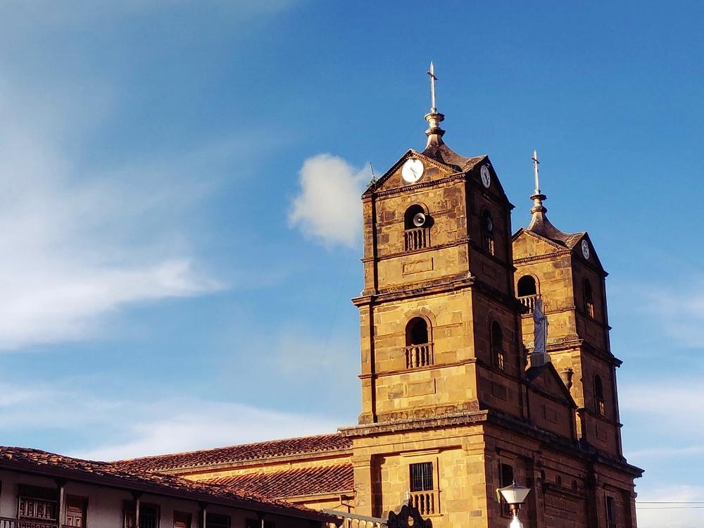 Eglise Zapatoca Colombie