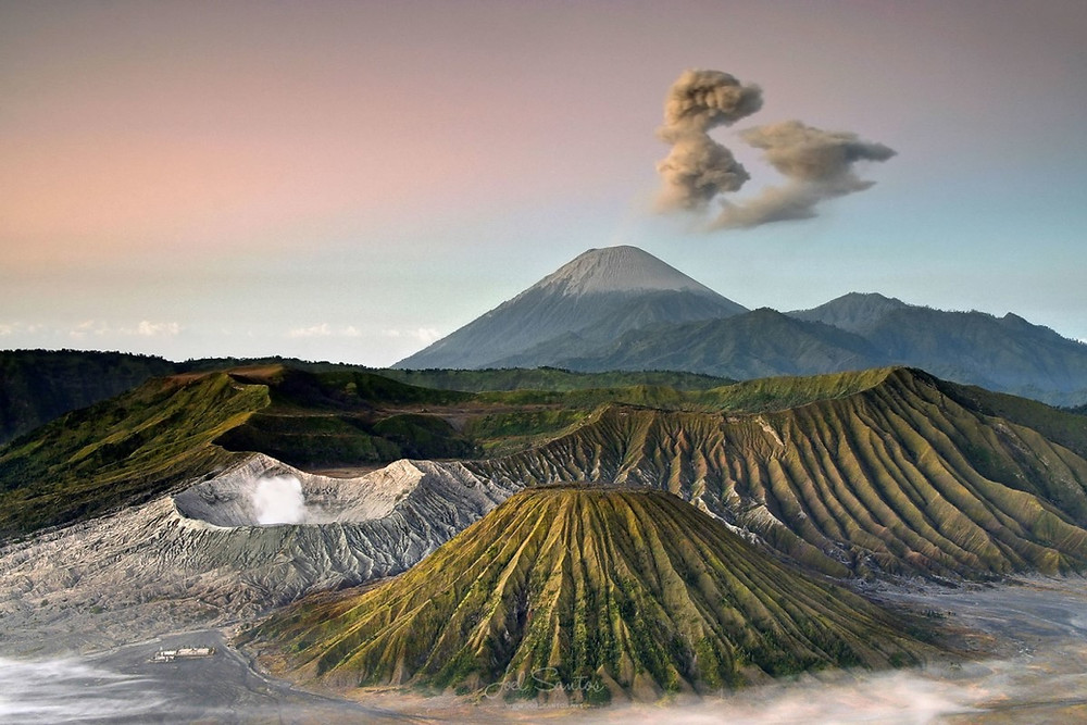Le Volcan Bromo de Java