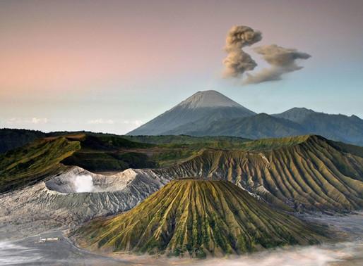 Le Volcan Bromo de Java en Indonésie