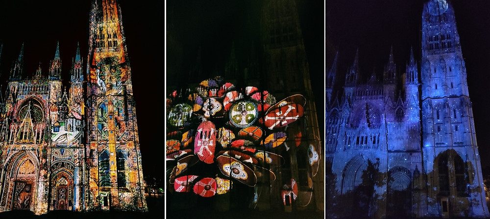 Normandie Médiévale  Cathédrale de Lumières Rouen