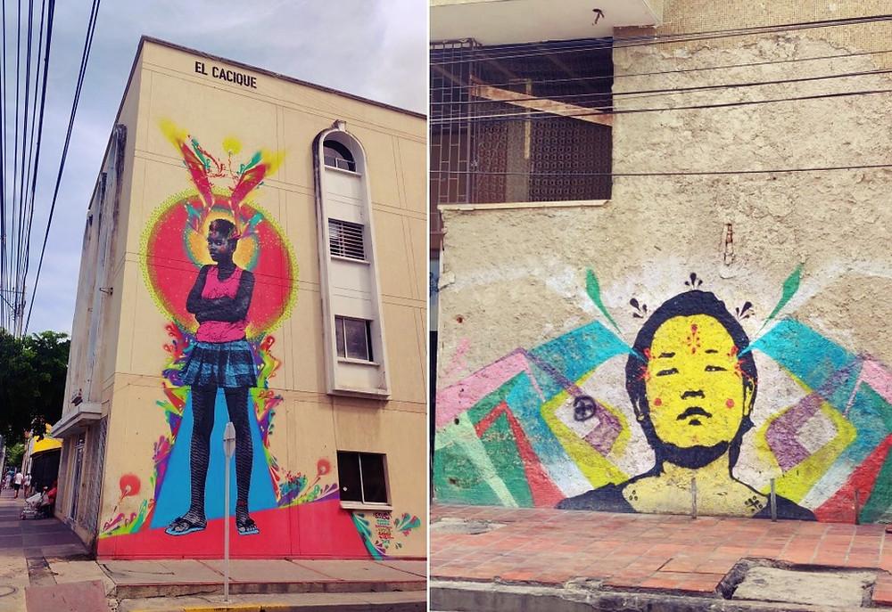 Santa Marta street art port