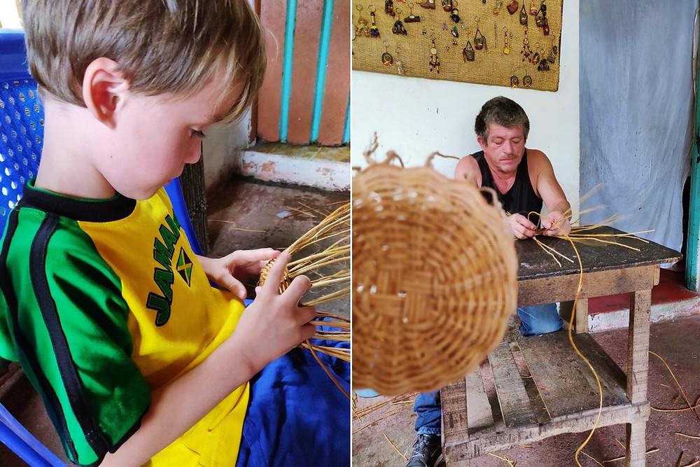 Atelier vannerie Filandia