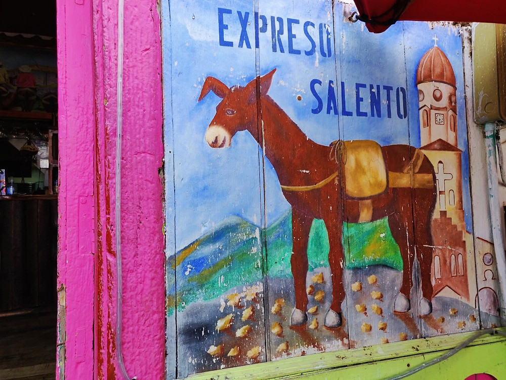 Café Salento en Colombie