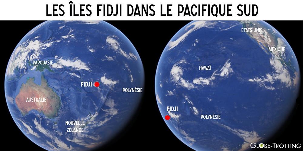Iles Fidji Globe