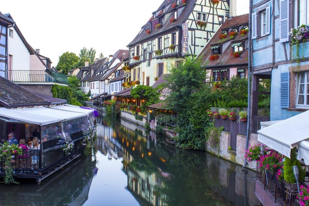 petite Venise de Colmar France