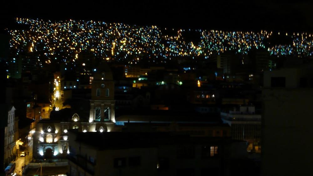 la paz de nuit bolivie