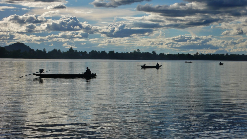 Pêcheurs Don Khong 4000 îles Laos