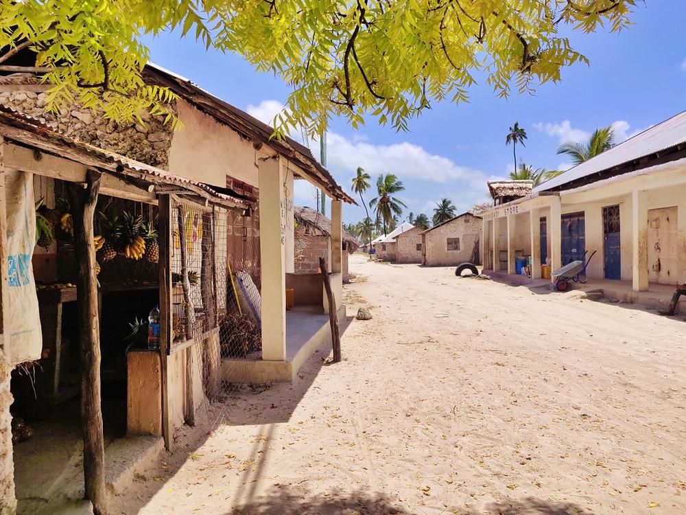 village de Jambiani