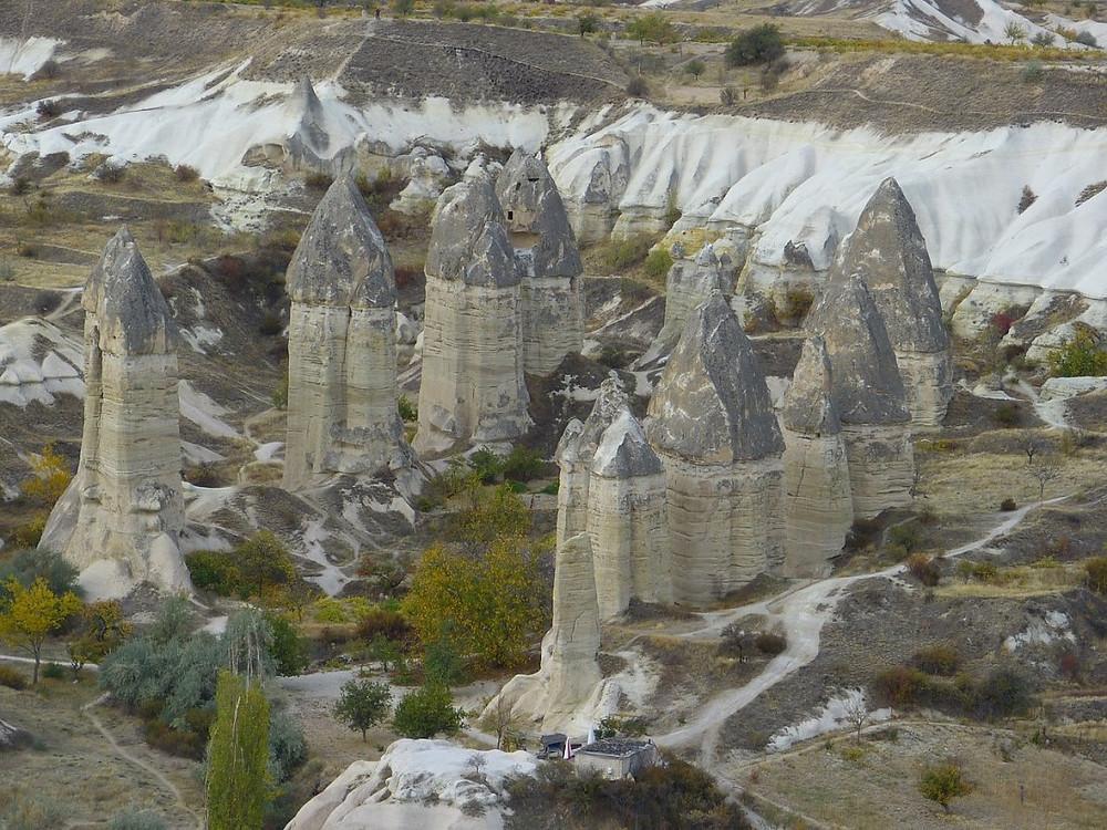 troglodytes vallée de l'Amour en Turquie Goreme