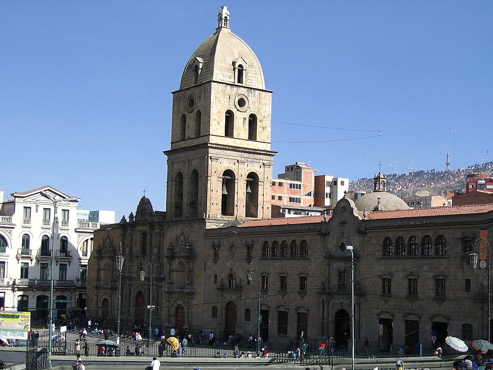 Basilique san Francisco La Paz Bolivie