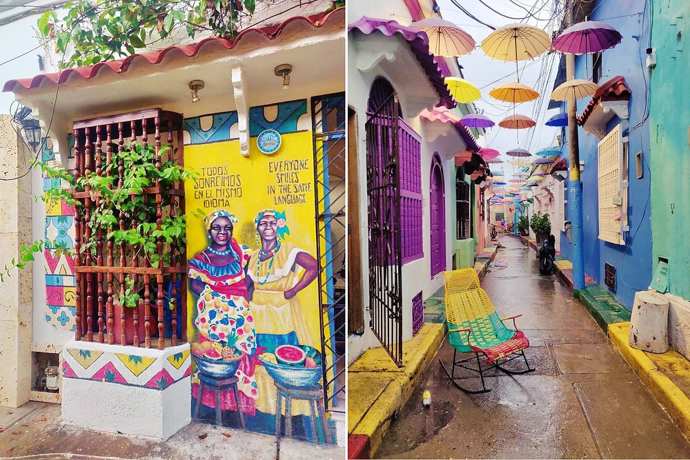 street art Barrio Getsemani