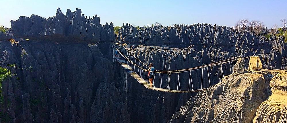 Madagascar Parc national Tsingy de Bemaraha