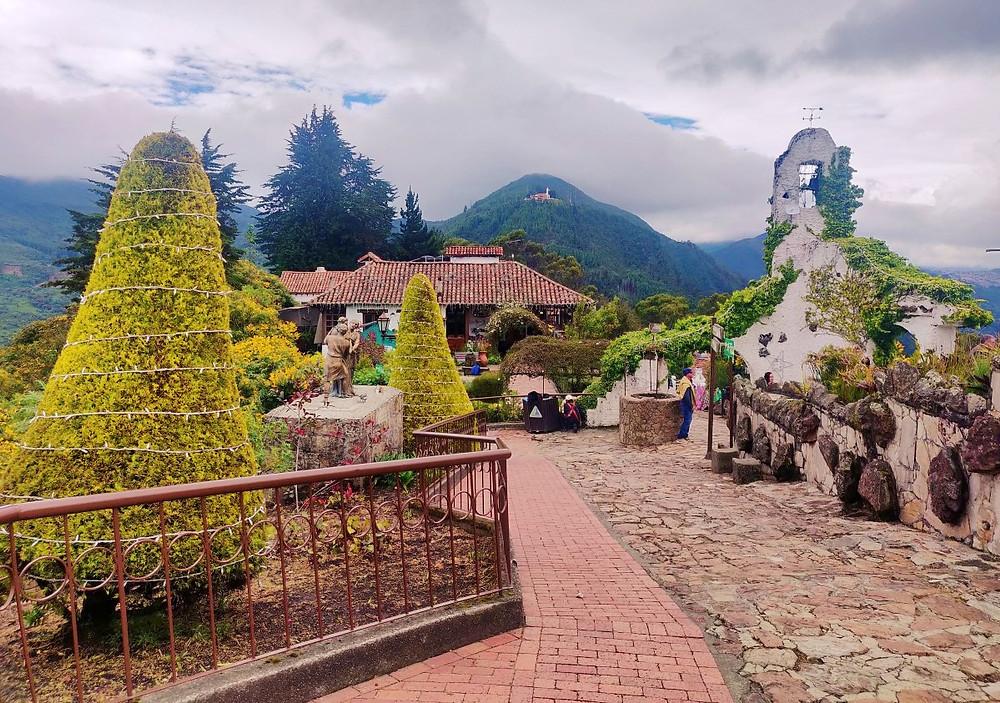 Vue Monserrate Bogota