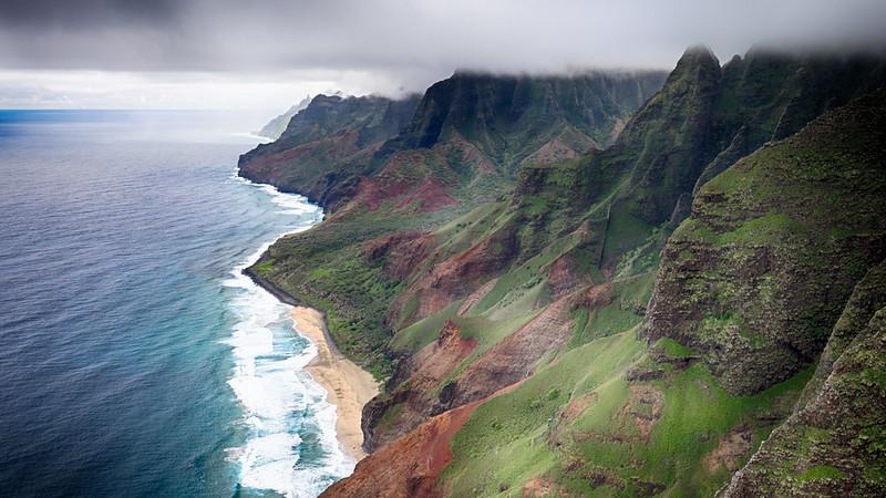 Nā Pali Hawaï