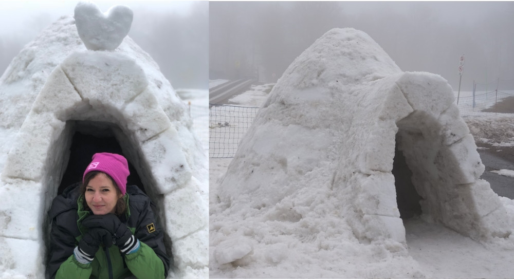 construire un igloo Haute saone