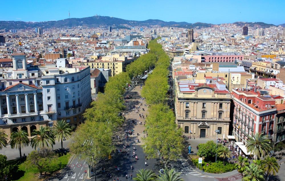 Barcelone La Rambla