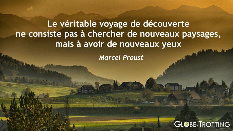 CITATION VOYAGE Proust