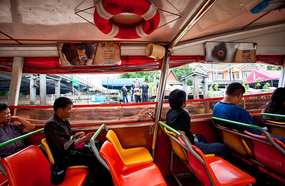 Bateau Chao Phraya Bangkok