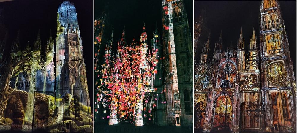 Normandie Médiévale Rouen Lumières