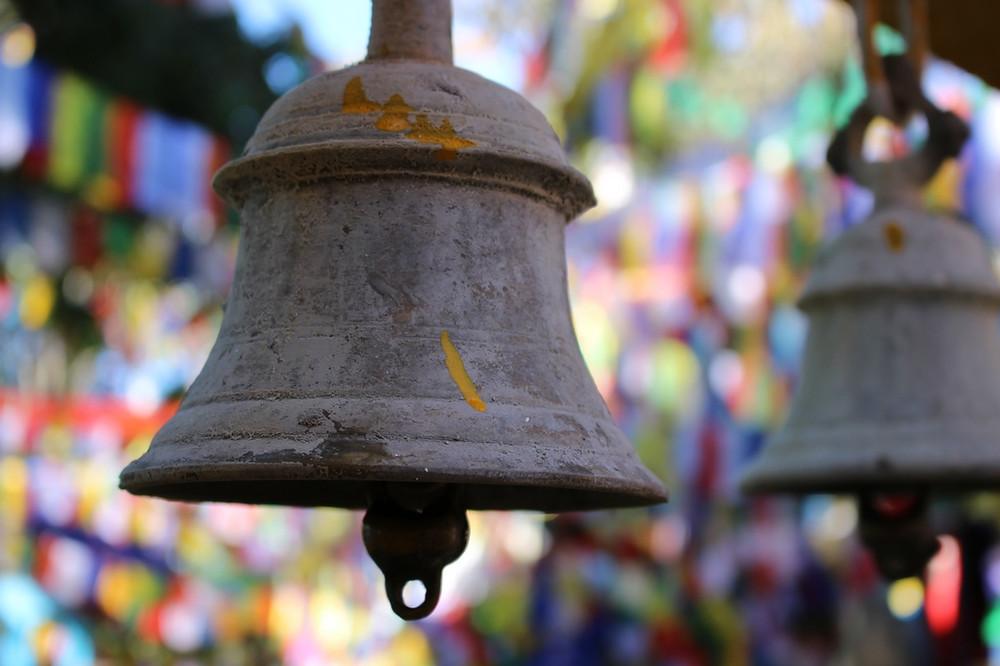 cloches Mahakal Temple Darjeeling, Inde