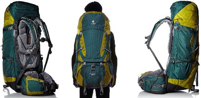kit voyageur sac à dos