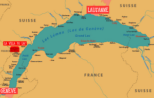hotel lac léman france