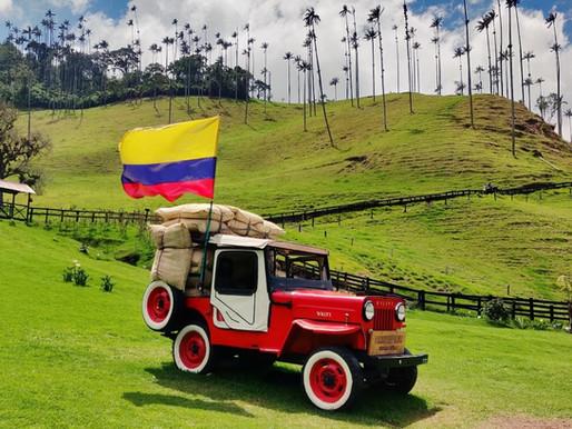 Valle de Cocora en Colombie