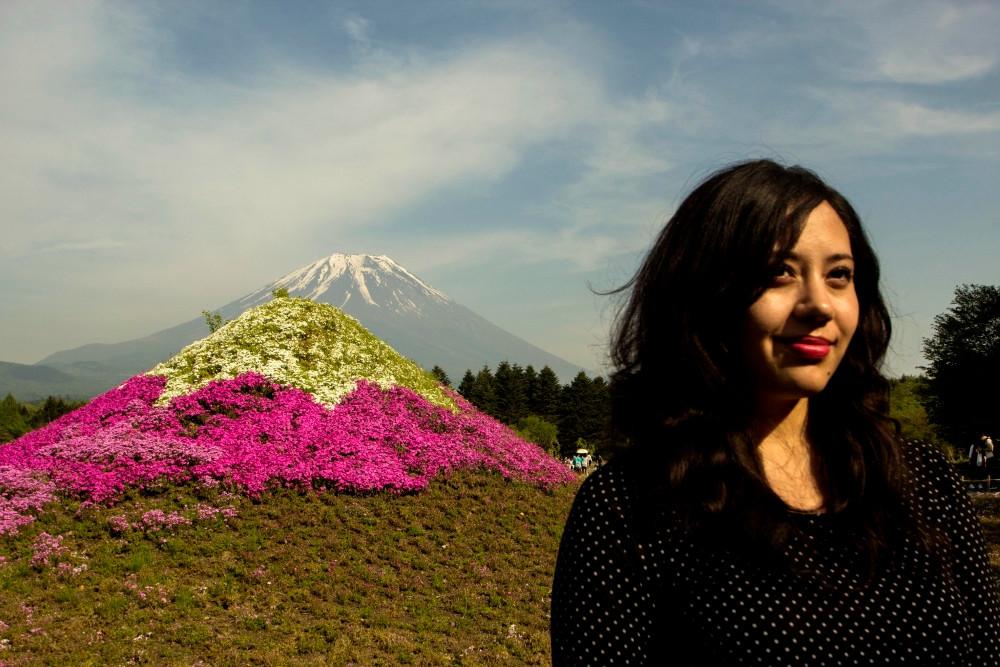 Shibazakura Festival mont Fuji