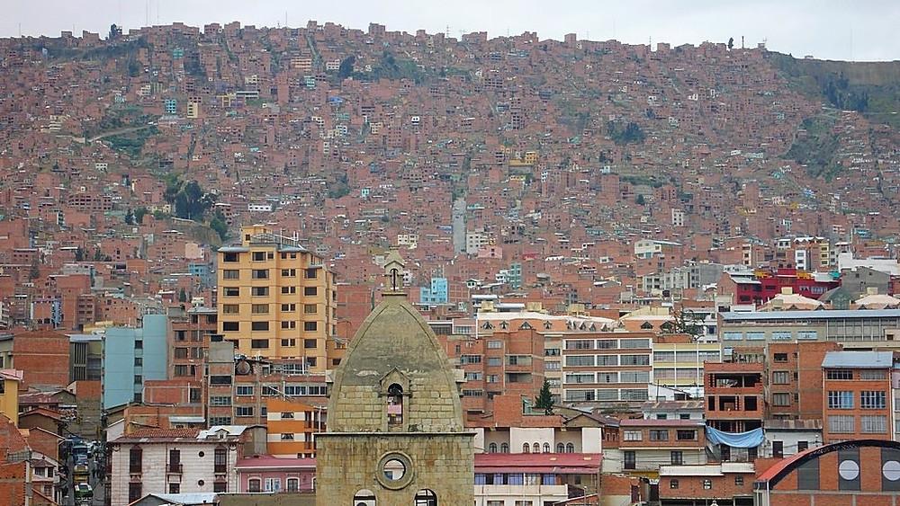 La paz Bolivie visiter