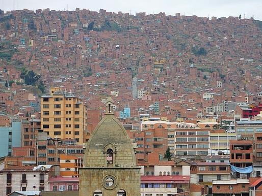 La Paz en Bolivie, plus haute capitale du Monde