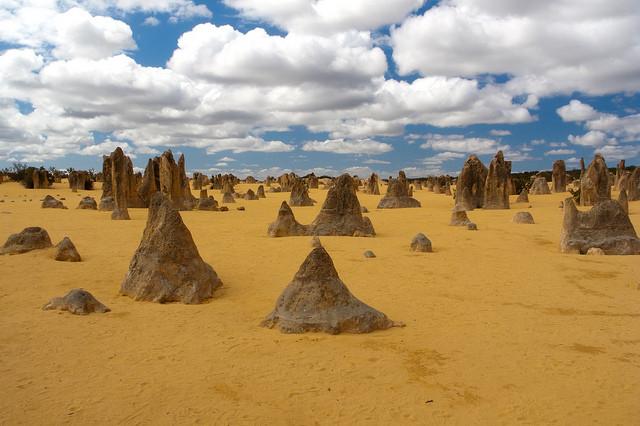 désert des Pinnacles australie