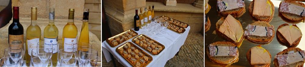 foie gras et vin du périgord