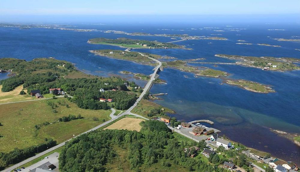Atlanterhavsveien, Norvège