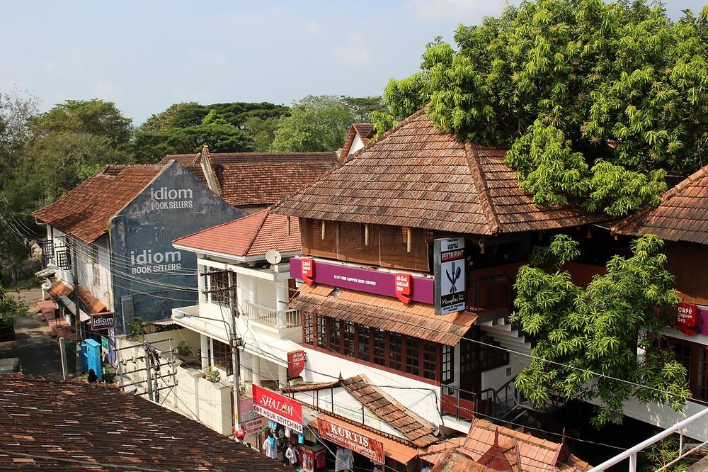 terrasse de Fort Cochin