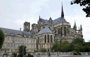 Cathédrale Notre-Dame Reims Monument historique France