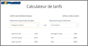Carte sim voyage explod tarifs