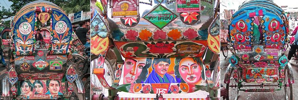 rickshaws dhaka bangladesh