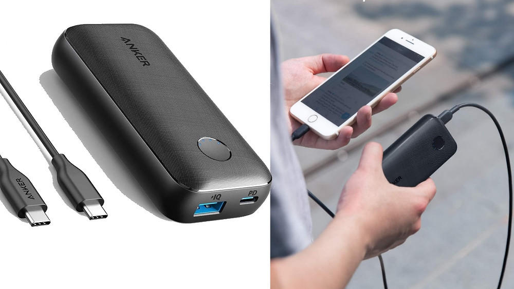 Batterie externe légère voyage