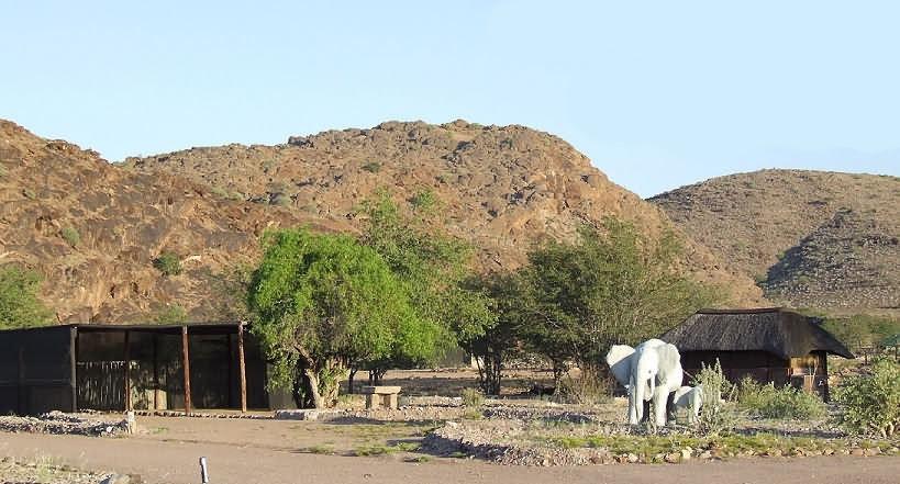 campement Twyfelfontein