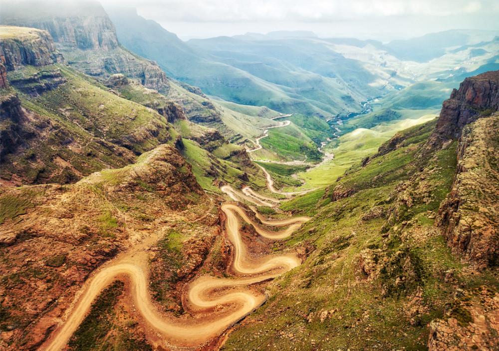 Trek du Drakensberg Afrique du Sud