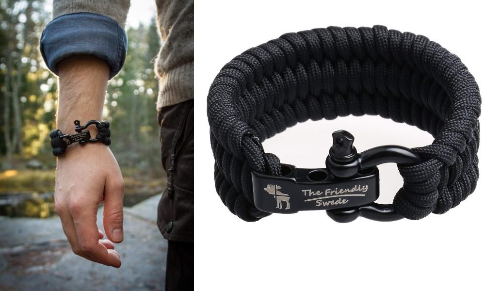 Bracelet survie paracorde