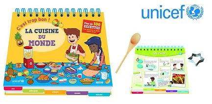 Livre recettes du monde enfants