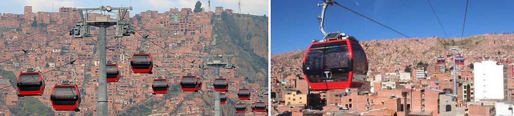 Mi Teleférico La Paz bolivie