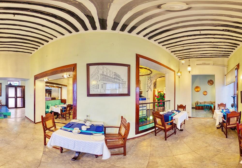 restaurant hotel stone town zanzibar