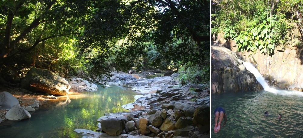 saut d'acomat Guadeloupe chute d'eau