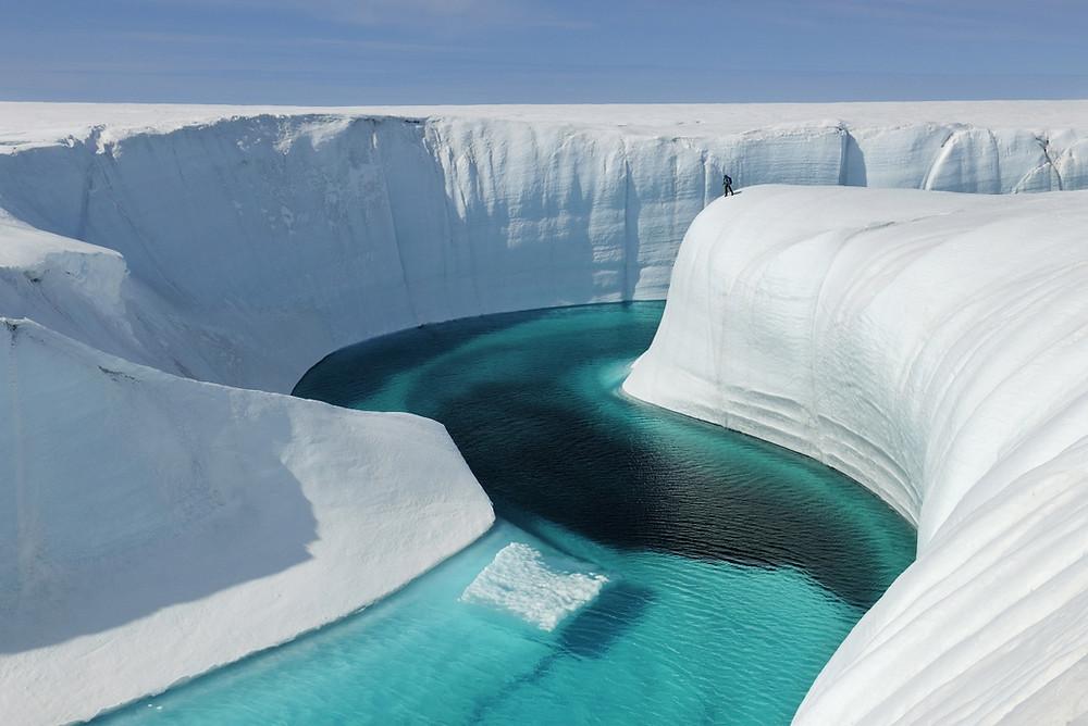 Canyon de glace Groenland