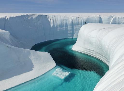 Le Grand Canyon de glace du Groenland