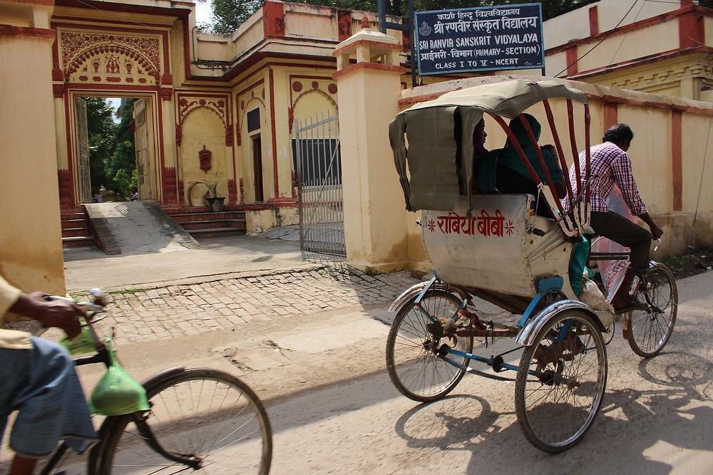 rickshaw bénarès varanasi
